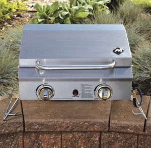 *NEW* Portable Propane Gas Grill 2-Burner Stainless Steel for Sale in Miramar, FL