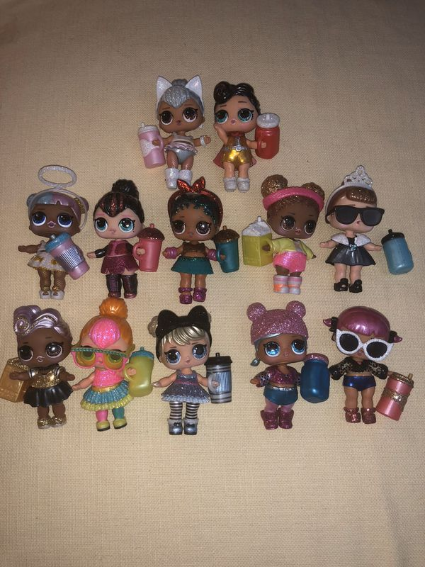 LOL SURPRISE DOLLS - ENTIRE SET OF GLAM GLITTER DOLLS (ALL 12)