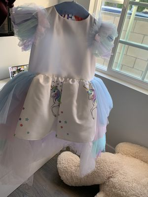 Toddler unicorn high-low dress for Sale in Burbank, CA