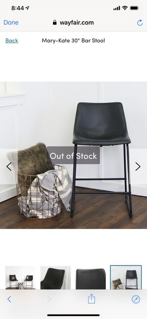 """Mary Kate 30"""" bar stools, brand new still in the box!! for Sale in Philadelphia, PA"""