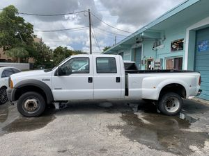 2005 F450 diesel work truck with very low miles for Sale in Fort Lauderdale, FL