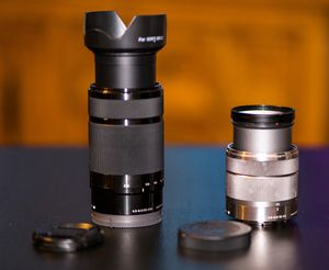 Sony Lenses for Alpha Mirrorless Cameras for Sale in Las Vegas, NV