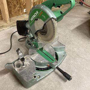 """Hitachi C10FCB 10"""" Compound Angle Miter Saw for Sale in Brier, WA"""