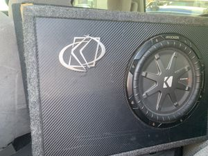 Kicker subwoofer for Sale in El Cajon, CA