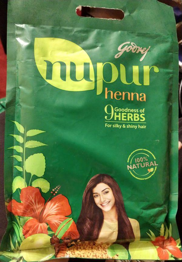 Nupur Henna for hair