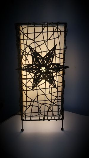 Rustic star table lamp for Sale in Mount Joy, PA