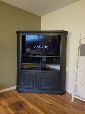 Corner entertainment center for Sale in Stafford, VA