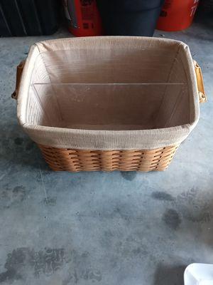 Longaberger Basket $10 for Sale in Rosharon, TX