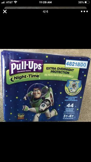 Huggies Pull Ups Training Pants Night time for Sale in Delray Beach, FL