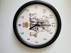 "9"" U.S. NAVY design Quartz Wall Clock for Sale in Elk Grove, CA"