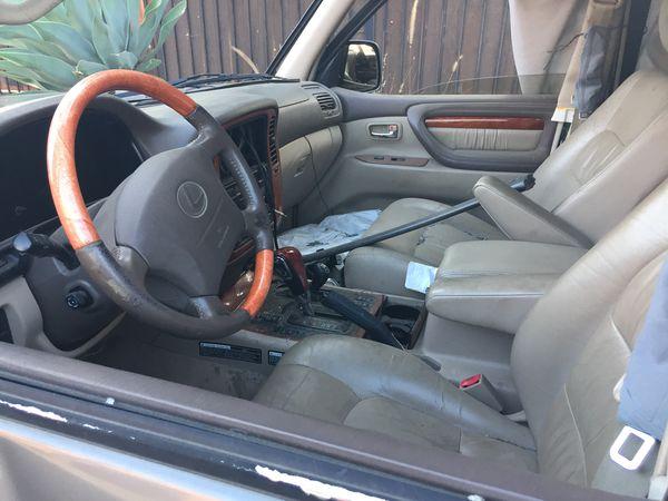 Lexus lx470 part out