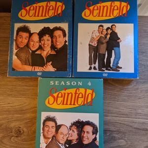 Seinfeld DVD Collection Seasons 1-4 for Sale in Manchester, CT