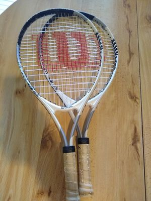 Name you Price! Make an offer and pick it up! (2) Two - Wilson US Open Junior Tennis Racquets- Rackets for Sale in Miami, FL