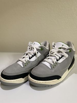 Jordan 3 Retro Chlorophyll for Sale in El Paso, TX