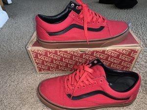 Vans (red, black with gum sole) for Sale in Norfolk, VA