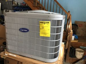 """New"" carrier 3 ton condenser air conditioner I have 2 for Sale in Warren, NJ"