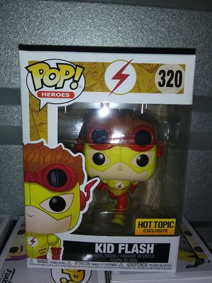 Funko pop kid Flash young justice for Sale in Oklahoma City, OK