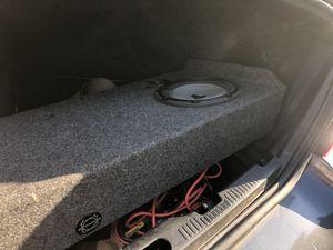 "Jl audio 10"" subwoofers focal door speakers jl audio 250x1v2 amp for Sale in North Richland Hills, TX"