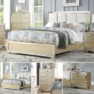 3-Pcs Queen size bedroom set. SPECIAL OFFER. $53 DOWN PAYMENT for Sale in Orlando, FL