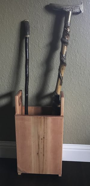 Stained Umbrella Stand for Sale in Manteca, CA