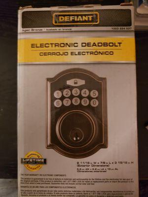 Electronic Keypad Deadbolt for doors for Sale in Hawthorne, CA