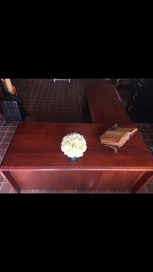 Mahogany secretary desk for Sale in Hinsdale, IL