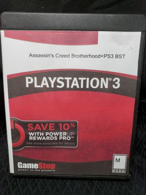 PS3 Assassins creed Brotherhood for Sale in Zanesville, OH