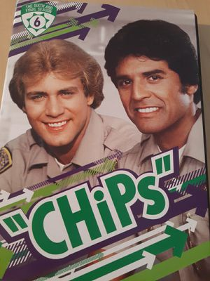 Chips complete seasons 5 and 6 DVD for Sale in Cortland, IL