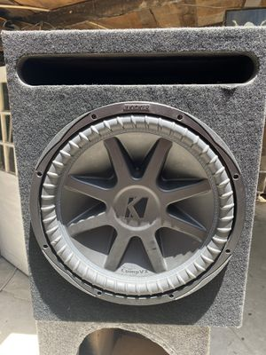 """Kicker COMPVX 15"""" 1000 RMS for Sale in Lincoln Acres, CA"""