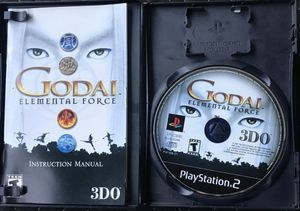 Ps2 game Godai, Elemental Force good condition with manual & case for Sale in Bradenton, FL