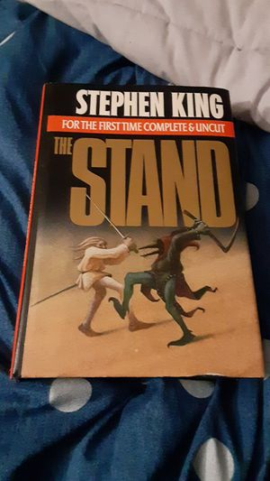 STEPHEN KING BOOK THE STAND HARDCOVER BOOK WITH DUST JACKET.... GREAT BOOK CHEAPER THAN EBAY.... GREAT DEAL FIRST EDITION for Sale in Ormond Beach, FL
