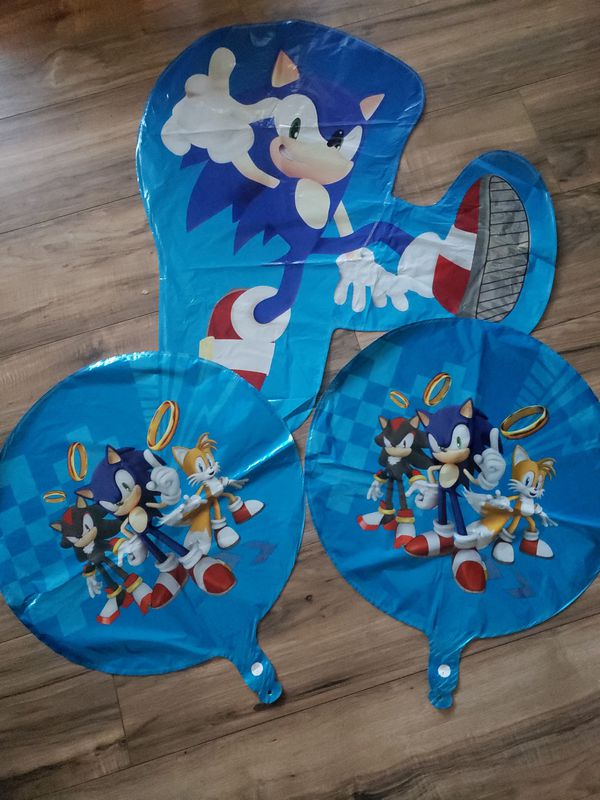 Sonic balloons sonic decorations