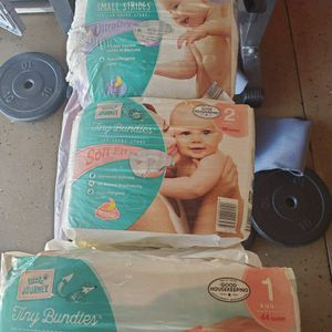 Newborn Diapers 1,2,and 3 for Sale in Montclair, CA
