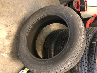 New Nexen 275-55-20 Tires 100% Life , Best Offer $140 each includes installation and balancing , English and Spanish spoken for Sale in Lakewood,  CA