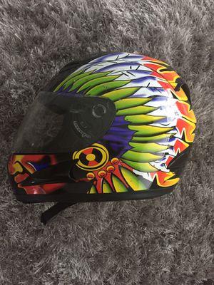 WOW (World of Wonder) Helmet (Black w/Indian Head Wrap Graphic) (Medium) for Sale in North Bay Village, FL
