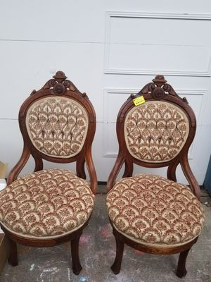 Antique Chairs - pair for Sale in Kent, WA