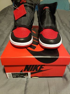 Nike Air Jordan 1 High OG NC To CHI Size 9 mens women's 10.5 for Sale in Mesa, AZ