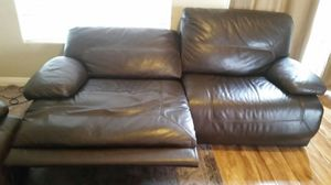 Leather Reclining Couches for Sale in Las Vegas, NV