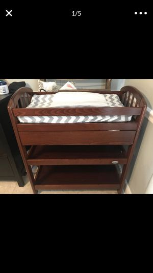 Changing table with cushion for Sale in Boynton Beach, FL