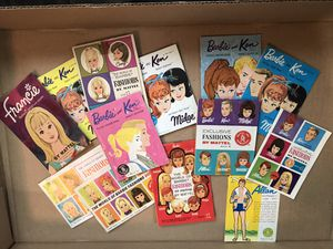 1960's Vintage Barbie Collectors booklets excellent collection for Sale in Lockport, IL
