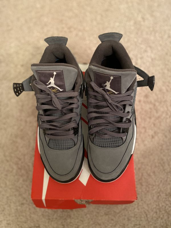 Jordan 4 Cool Grey size 10