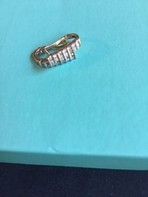 Small diamond hoop earrings for Sale in Kenosha, WI