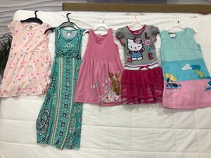 5-7 years old girl dresses, some brand new for Sale in Fort Lauderdale, FL