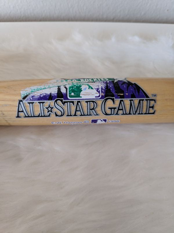 *1998 MLB All-Star Game* Sammy Sosa Autographed Baseball Bat (wow, wow, WOW)