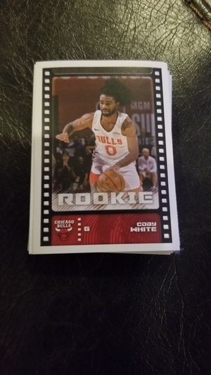 Coby white rookie card sticker 2019-2020 for Sale in Hanover Park, IL