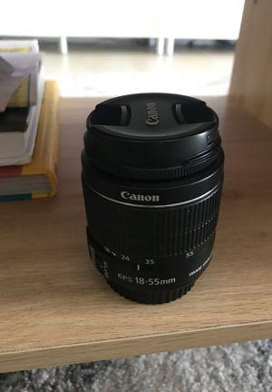 Canon 18-55 mm lens for Sale in Miami, FL