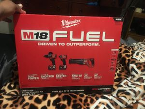 Milwaukee 18volts fuel for Sale in Bakersfield, CA