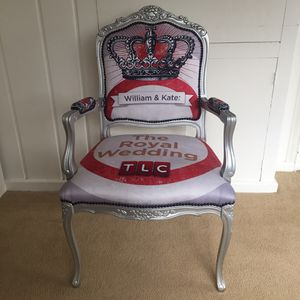 Prince William and Kate Royal wedding chair for Sale in Washington, DC