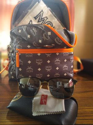 Ray bands , and mcm bookbag & Gucci belt for Sale in Milwaukee, WI