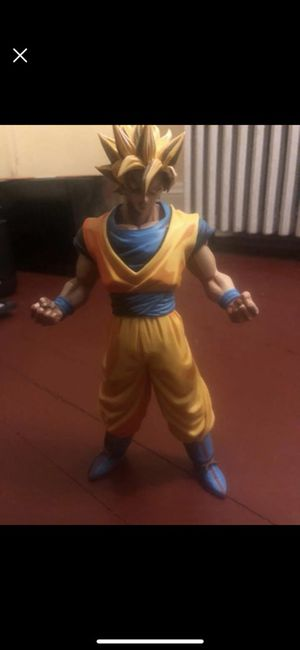 Goku Autographed Figure for Sale in Portsmouth, VA